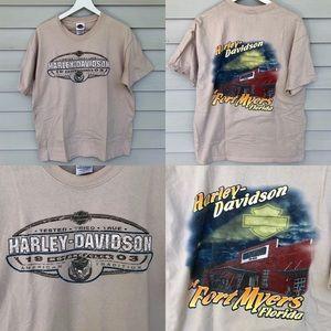 Harley Davidson t shirt size L